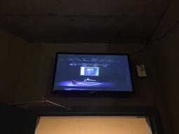 Backstage monitor in Nanaimo