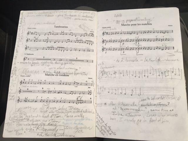 Christina's music and notes
