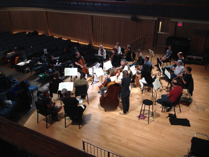 French cellist Christophe Coin leads Tafelmusik in rehearsals