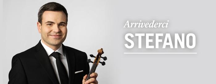 Arrivedirci Stefano