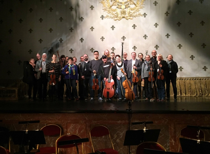 Opera Atelier and Tafelmusik in Versailles, France for Armide, 2015.