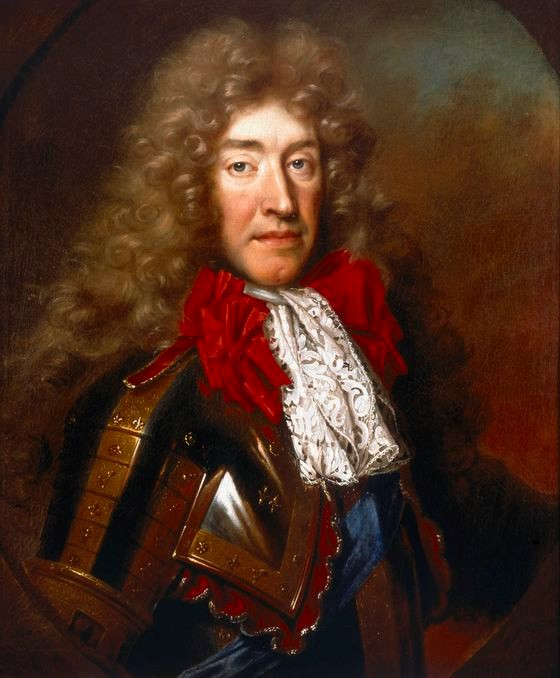 Portrait of James II, who was crowned King of England and Ireland (and James VII of Scotland) in 1685