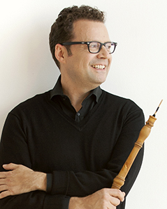 Marco Cera, oboe. Photo by Sian Richards