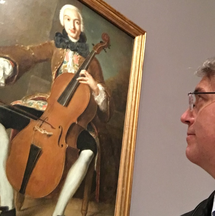 Allen Whear paying homage to Boccherini